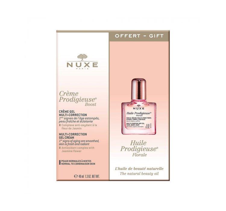 zestaw kosmetyków Nuxe